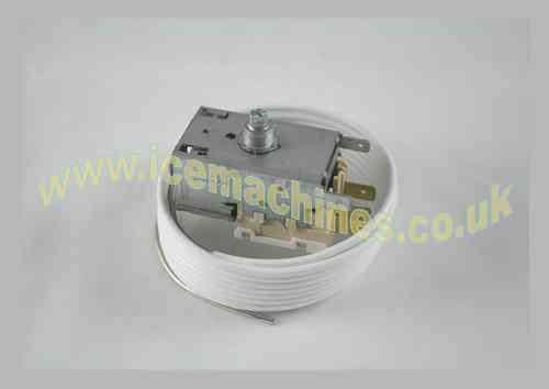 Evaporator thermostat
